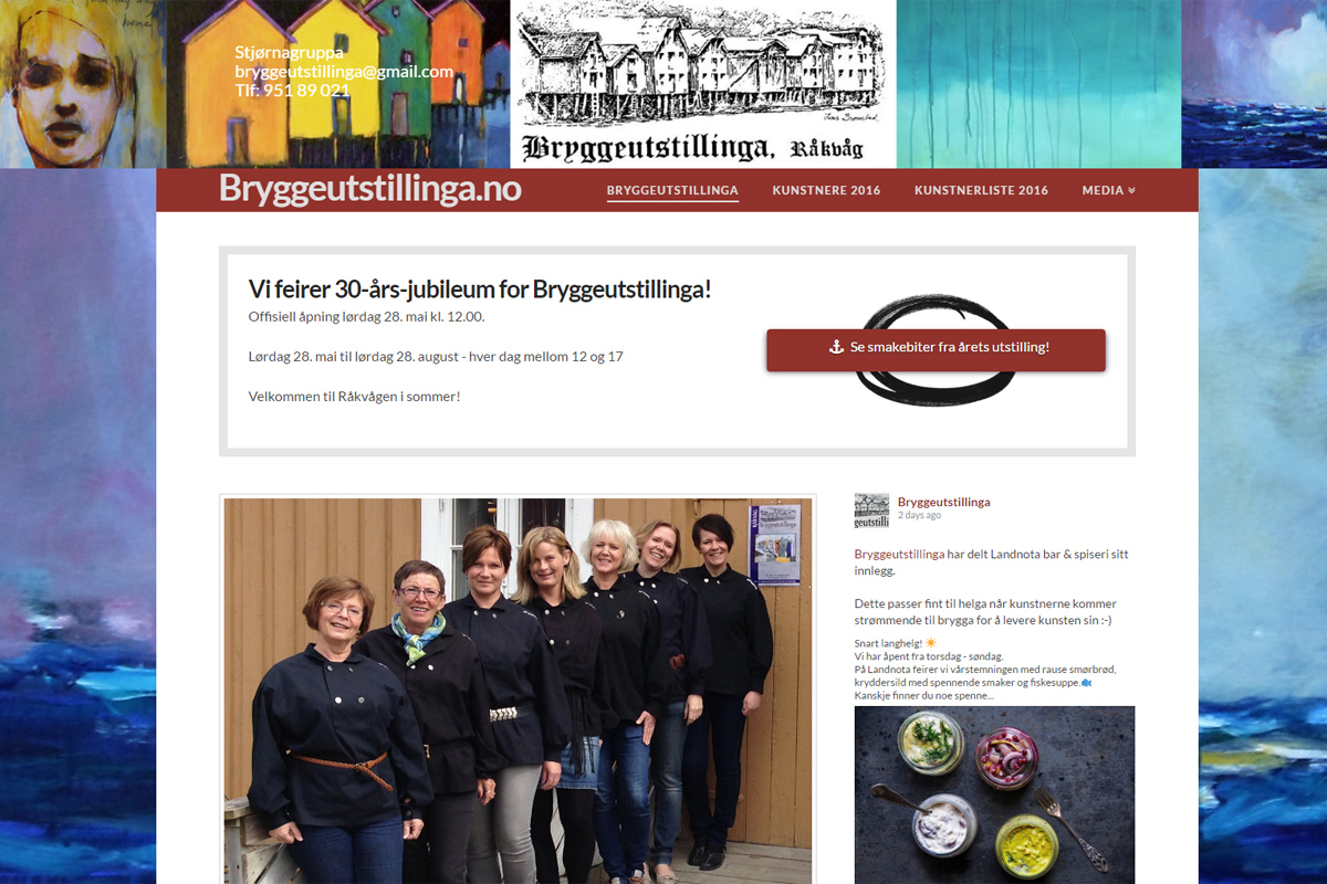 Bryggeutstillinga 2016