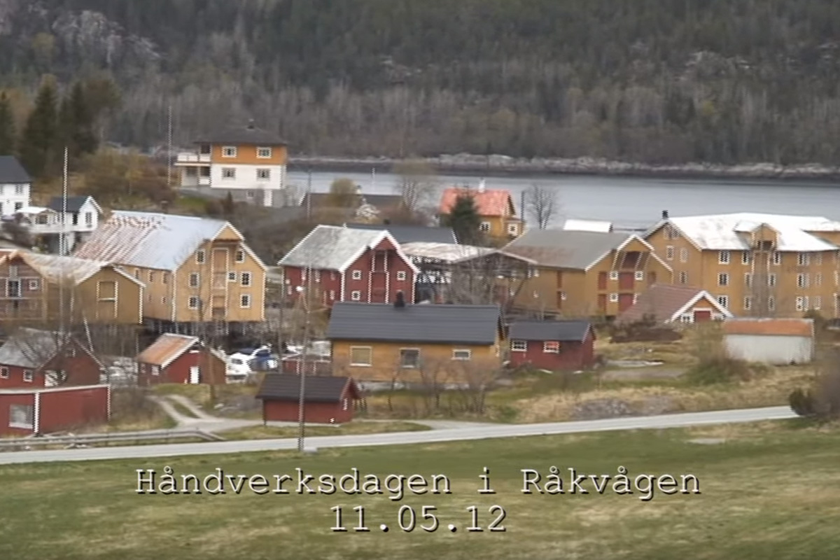 Håndverksdagen i Råkvåg. 11.05.12