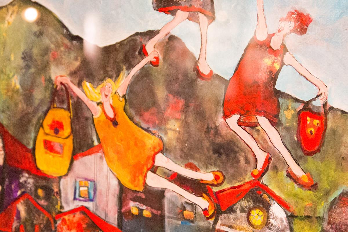 Grethe By Riise er en av de mange kunstnerne på Bryggeutstillinga 2015. Utstillinga er åpen hver dag 12.00 til 1700.