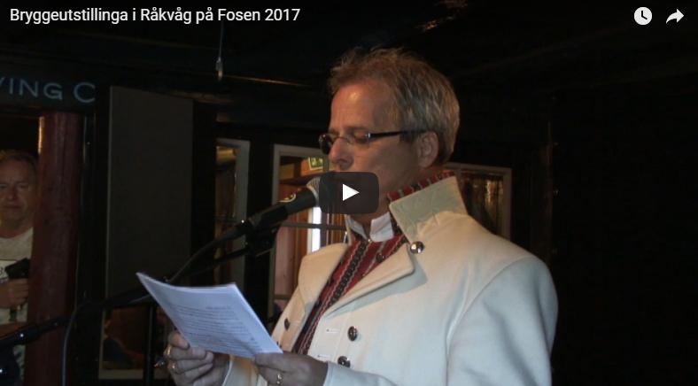 Åpning Bryggeutstillinga 2017