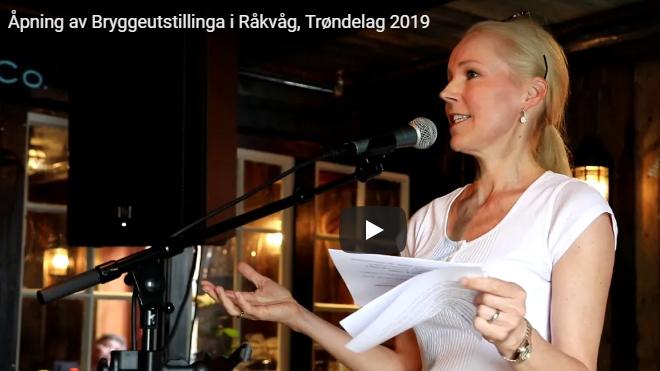 Åpning bryggeutstillinga 2019