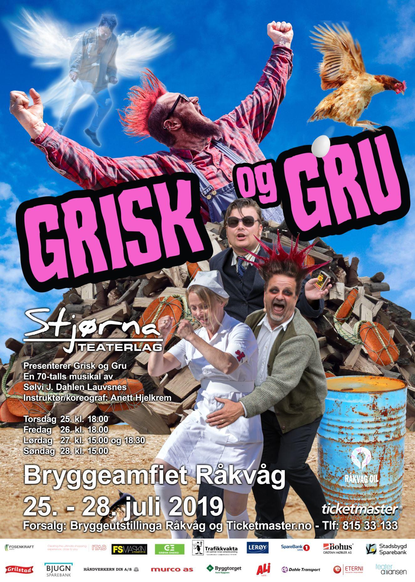 Stjørna Teaterlag - plakat 2019