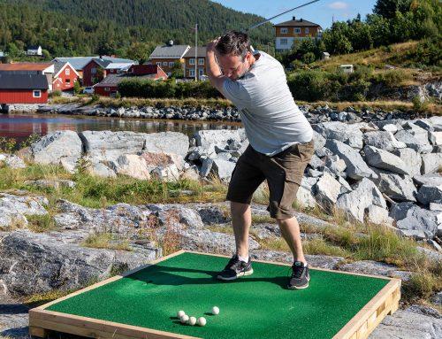 Ny utslagsbane for golf